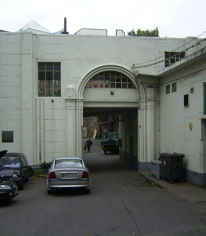 Portalgebäude, heutige Ansicht